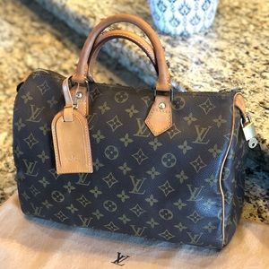 🥰Louis Vuitton Speedy 30👜🎀